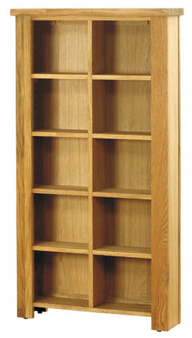 Baumhaus Aston Oak DVD/CD Storage Unit