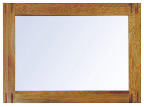 Baumhaus Aston Oak Wall Mirror