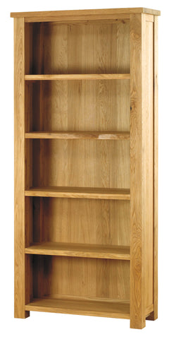 Baumhaus Aston Oak Large Open Bookcase