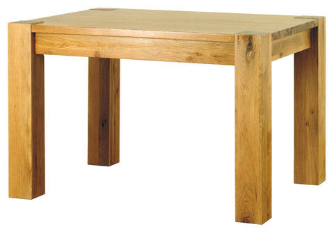 Baumhaus Aston Oak 4 Seater Dining Table