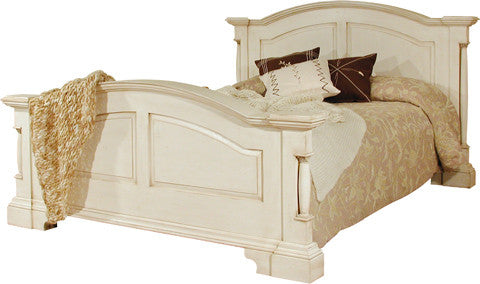 Canterbury Painted Cream Double Bedframe