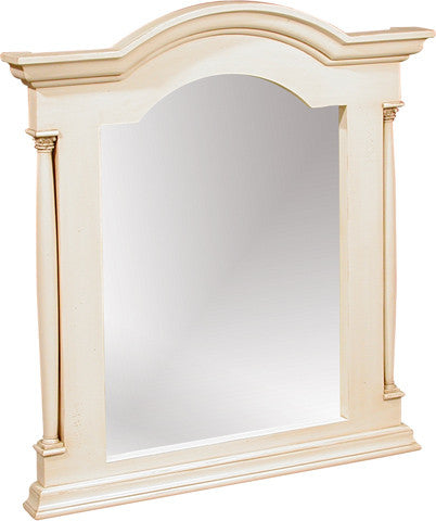 Canterbury Painted Cream Wall Mirror