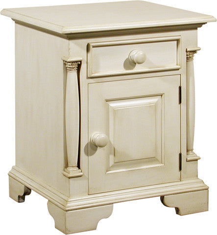 Canterbury Painted Cream Right Hand Drawer Bedside