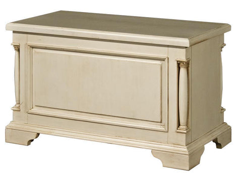 Canterbury Painted Cream Storage Box