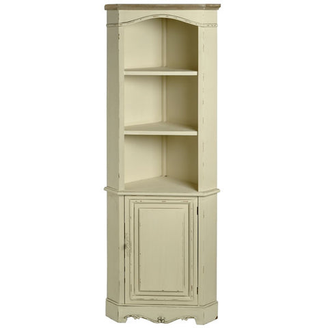 Country Cream Shabby Chic Corner Unit