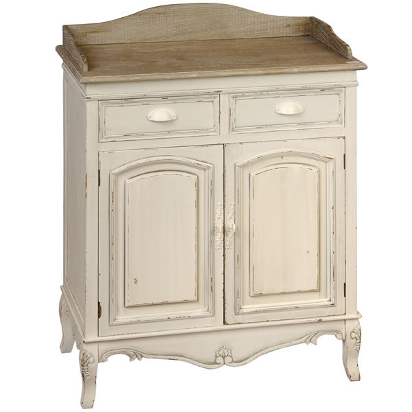Country Cream Shabby Chic Hall Table - lovefurnitureuk