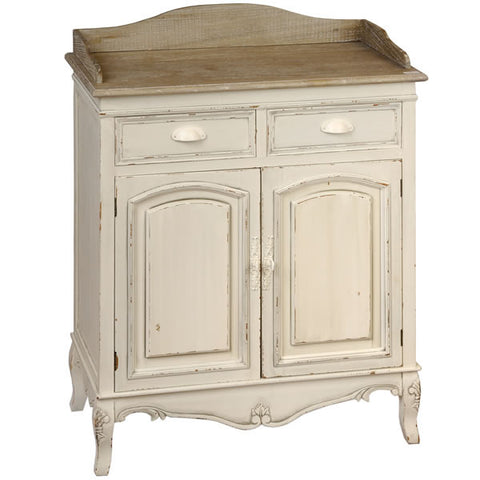 Country Cream Shabby Chic Hall Table