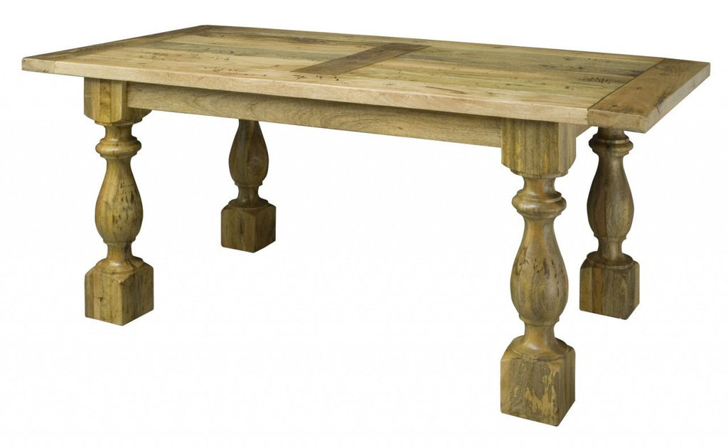 Granary Royale Wooden Chunky Table - lovefurnitureuk - 1