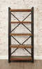 Urban Chic Reclaimed Large Open Bookcase - lovefurnitureuk - 1