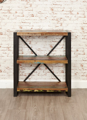 Urban Chic Reclaimed Low Bookcase