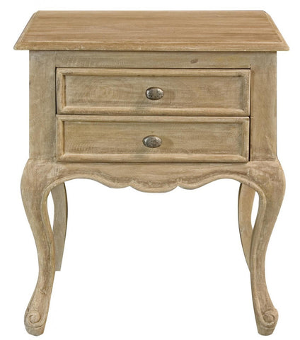Maison 2 Drawer Bedside Table