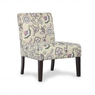 Morris Deco Amethyst Fabric Chair