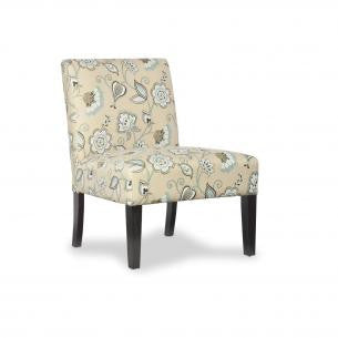 Morris Deco Duck Egg Blue Fabric Chair