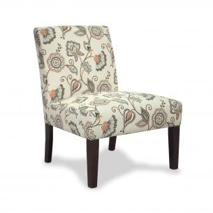 Morris Deco Spice Fabric Chair