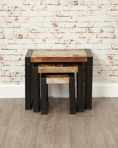 Urban Chic Reclaimed Nest Of Tables