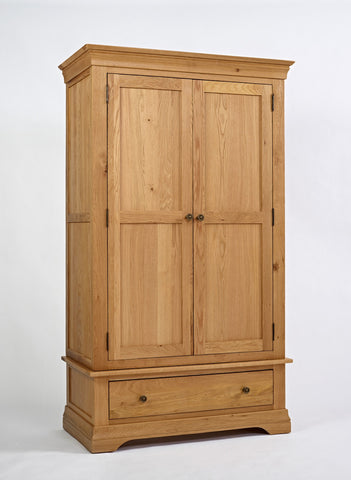 Normandy Oak 2 Door Wardrobe