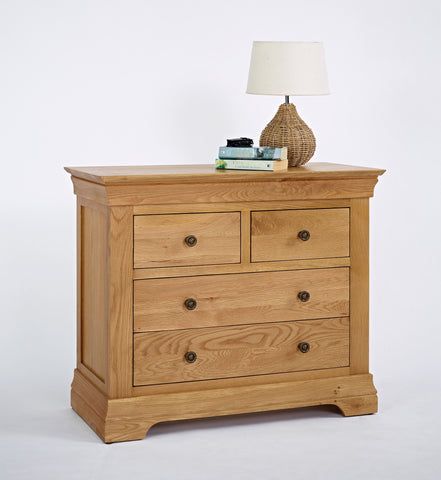 Normandy Oak 2 Over 2 Chest
