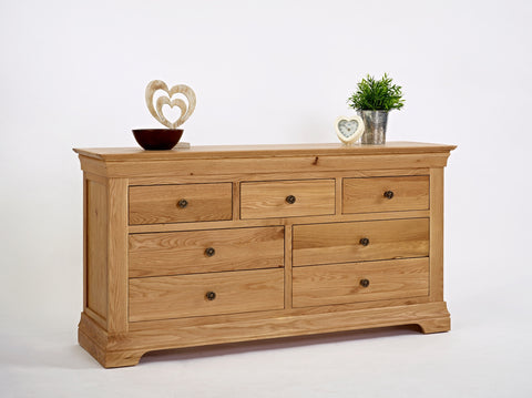Normandy Oak 3 Over 4 Chest