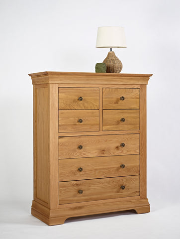 Normandy Oak 4 Over 3 Chest