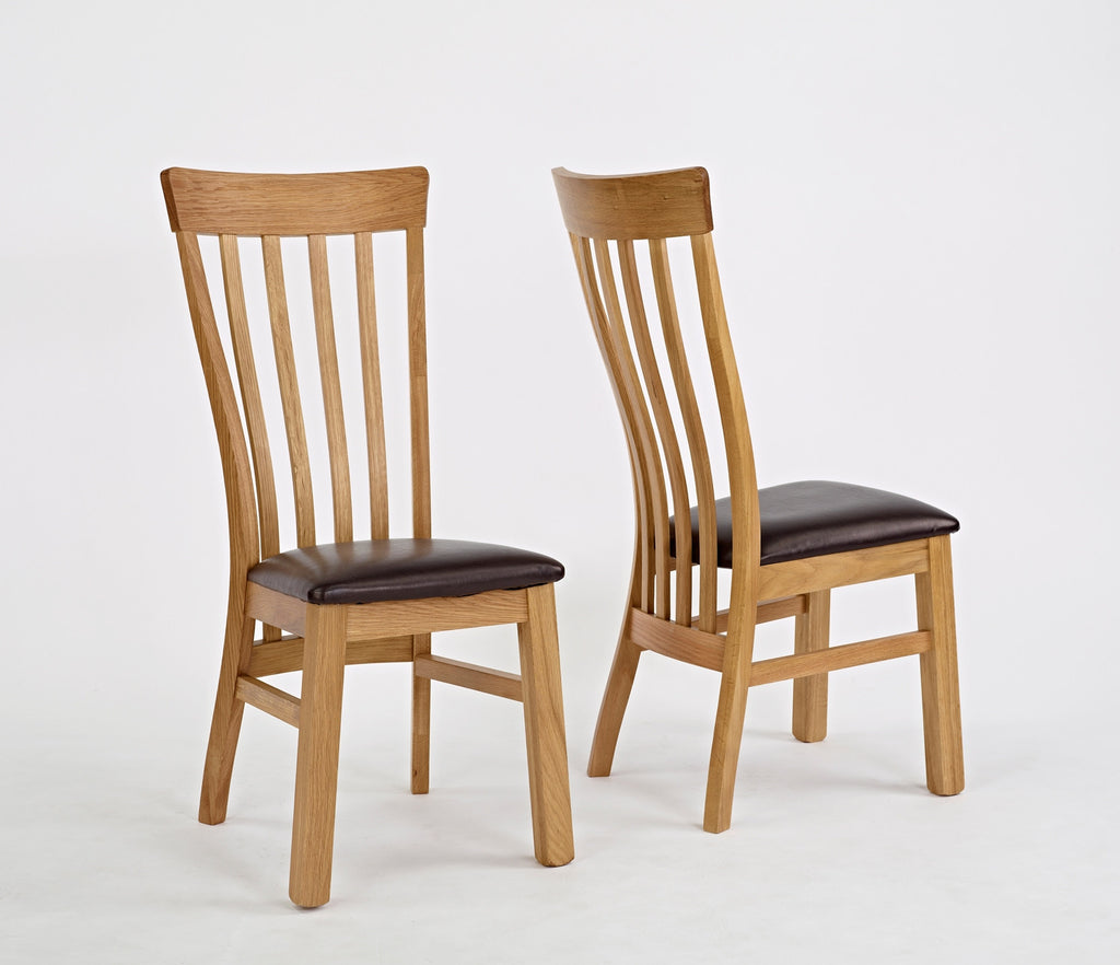 Normandy Oak Set Of 2 Dining Chair