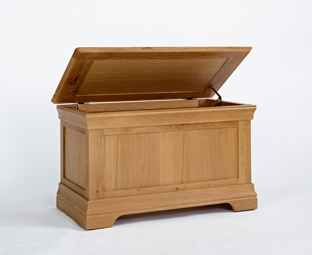Normandy Oak Blanket Box