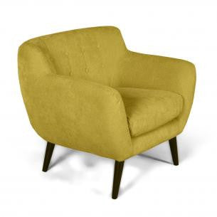 Riva Harvest Gold Upholstered Accent Chair