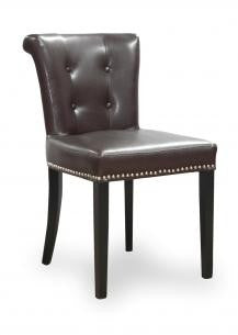 Sandringham Old Antique Brown Bonded Leather Chair
