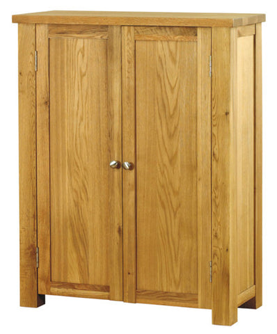 Baumhaus Aston Oak Shoe Cupboard