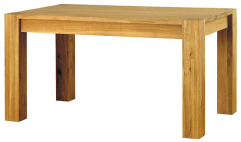 Baumhaus Aston oak 4-6 seater Dining Table