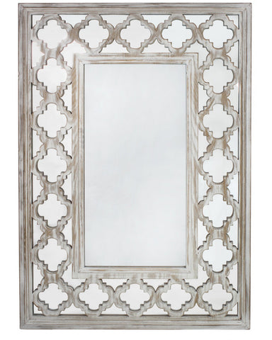 Hamlin Beach Wooden Wall Mirror