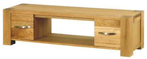Bauhmaus Aston Oak Widescreen TV Cabinet