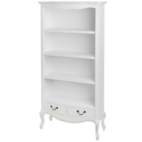 Classic White Painted Bookcase
