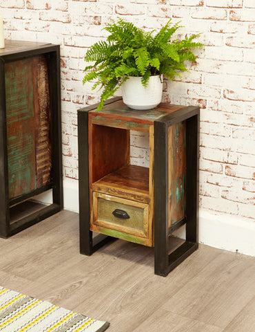 Urban Chic Reclaimed Bedside Table
