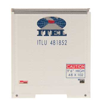 48' Smooth Side Container - ITEL - ITLU