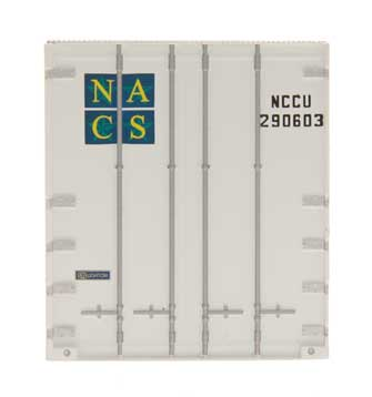 48' Smooth Side Container - North American Container System - NCCU