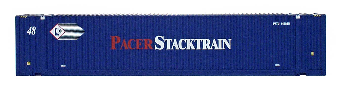 48' Jindo Corrugated Container - Pacer Stacktrain - PATU