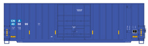 Gunderson 50ft High Cube Boxcars w/ Modern End - Single Door - Canadian National