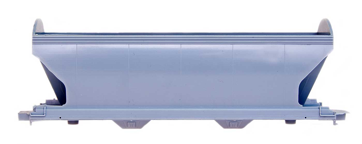 HO KIT ACF Center Flow 2-Bay Hopper - Undecorated