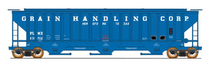 4750 Cubic Foot Rib-Sided 3-Bay Hopper - Grain Handling Corp