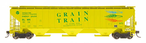 4750 Cubic Foot Rib-Sided 3-Bay Hopper - Grain Train