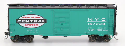 "1397 AAR 40' 10'0"" Boxcar - New York Central Jade Green Repaint"
