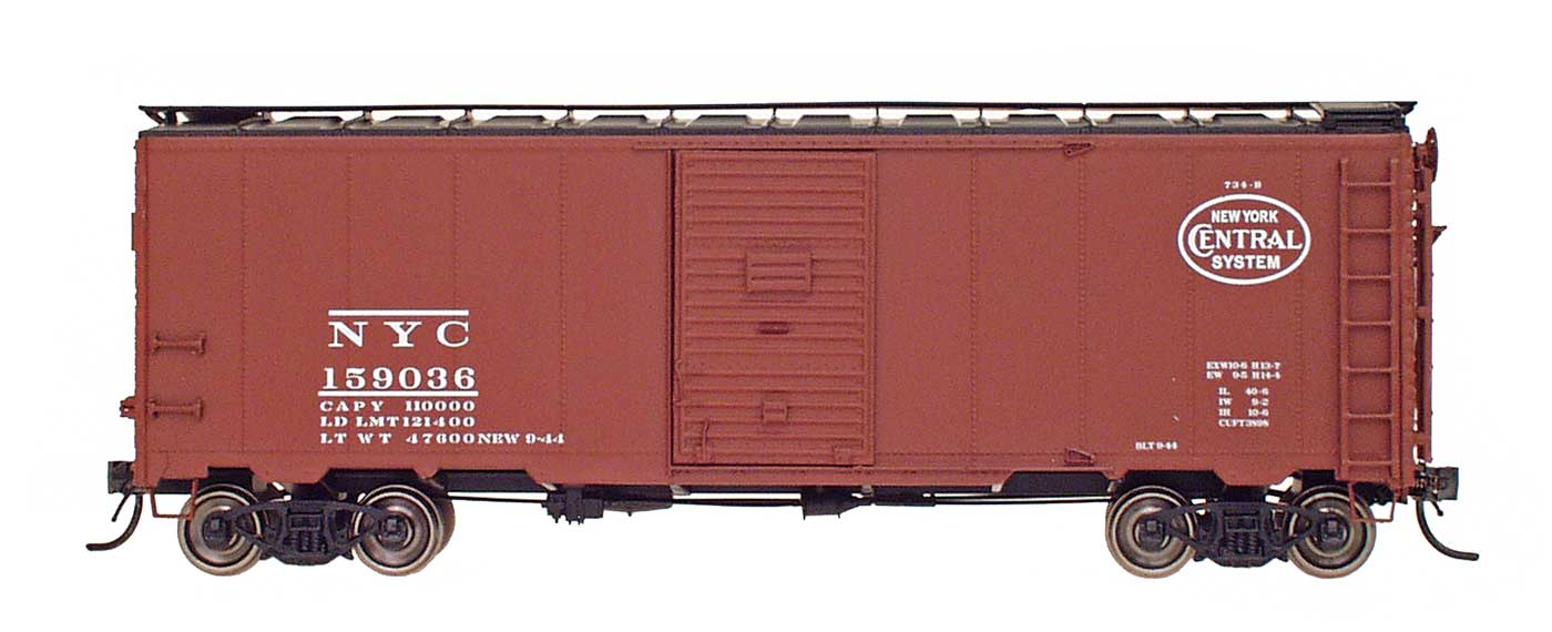 "1397 AAR 40' 10'6"" Boxcar - New York Central"
