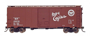 "1397 AAR 40' 10'6"" Boxcar - Missouri Pacific - Route of the Eagles"