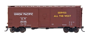"1397 AAR 40' 10'6"" Boxcar - Union Pacific - Route of the Streamliners"