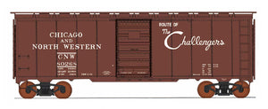 "1397 AAR 40' 10'6"" Boxcar - Chicago & North Western - Route of the Challengers"