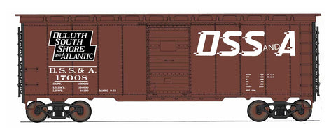"1397 AAR 40' 10'6"" Boxcar - Duluth, South Shore & Atlantic"