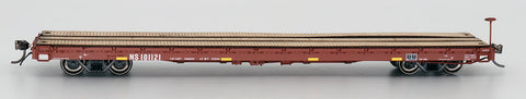 60' Wood Deck Flat Car - Norfolk Southern (ex. Southern)