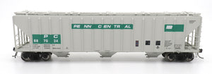 4785 PS2-CD Covered Hopper - Early Frame - Penn Central Green Patch
