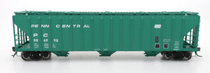 4785 PS2-CD Covered Hopper - Early Frame - Penn Central - Green Repaint