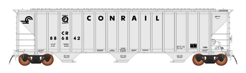 4785 PS2-CD Covered Hopper - Early Frame - Conrail Grey  - Quality Logo